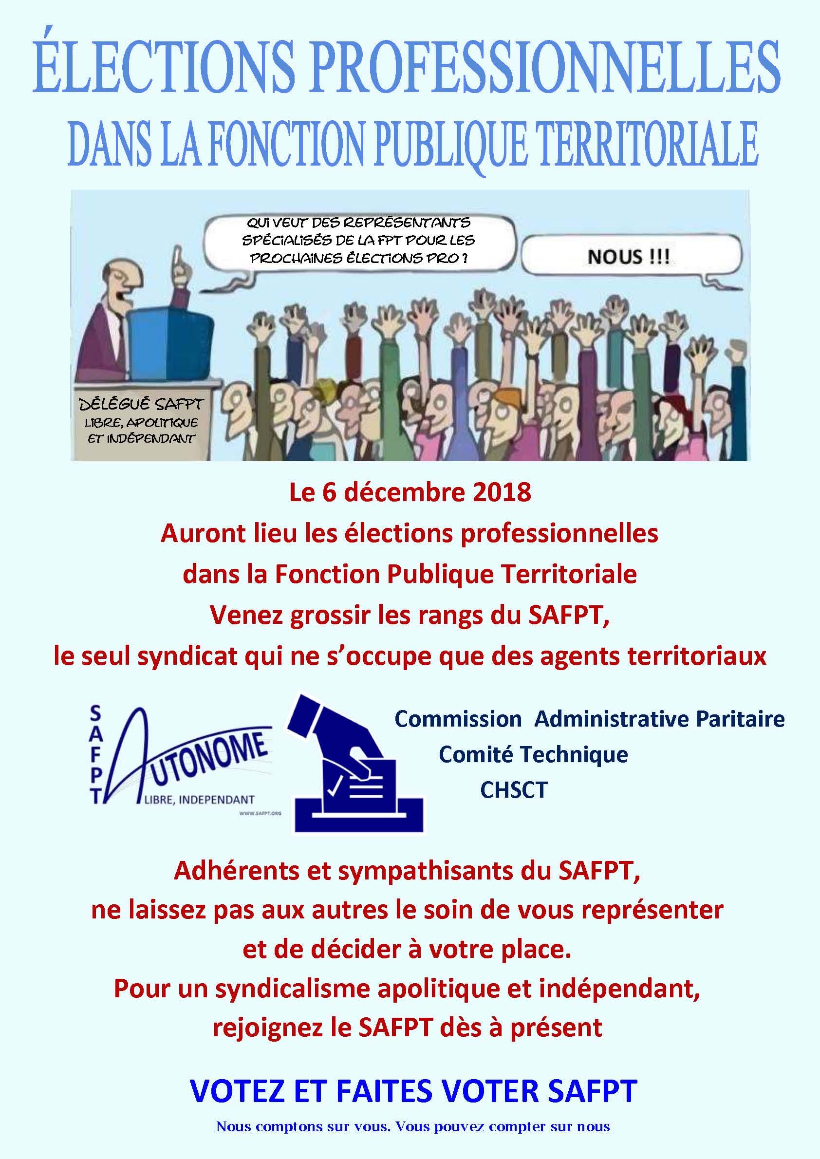 Syndicat Autonome De La Fonction Publique Territoriale